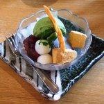 3527780 - 季節の野菜御膳のデザート