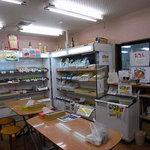 豊国製麺所 - 販売コーナーも併設