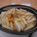 豊国製麺所 - 本日のパスタ(通常の半額)