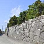 真壁ちなー - 立派な石垣