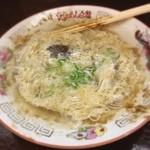 白龍 - じゃじゃ麺食べ終わってチータンタン