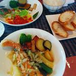 cafe 膳 八起 - 【週末ランチ】お魚料理