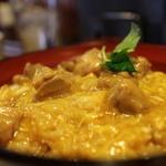 あい庵 - 料理写真:宝夢卵の親子丼