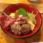 地魚寿司 中乃見家 - 三楽流まかない丼