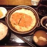 35275104 - かつ煮定食 650円(税込)(2015年2月20日撮影)