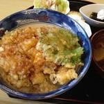元禄鮨 - 牡蠣天丼