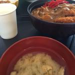 和田小屋 - カツカレー丼