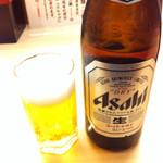 さんきゅう水産 - 瓶ビール