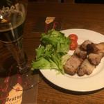 ドルフィンズ - 自家製バラ肉燻製ウマウマ