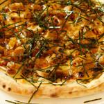 ハクサン ピザ - テリヤキチキン