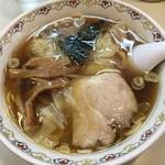 春木屋 - ワンタン麺です。
