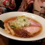 虎徹 - 虎鉄そば(醤油)大盛¥830