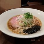 虎徹 - 豊深煮干しそば(醤油)¥750