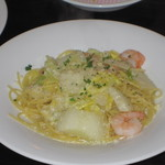 ラバンビーノ - こだわり白菜の、ペペロンチーノ
