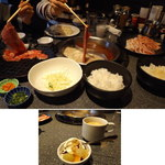しゃぶしゃぶのだいこく家 - だいこく家のしゃぶしゃぶ食べ放題はドリンクバー付き、クーポンでソフトクリームバー付に2014.12.28撮影