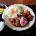 花しょうぶ - 15.02期間限定「鶏唐梅おろし定食」880円