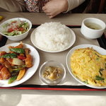 中華レストラン 吉 - 料理写真:ランチ定食