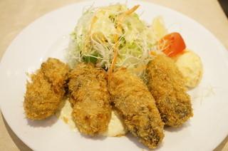 七條 - 三陸産カキフライ(1340円)