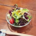 ルーカフェ - ランチのサラダ。