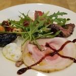 ダ リキーノ - 料理写真:ランチの前菜盛り合わせ