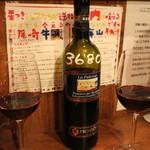 ブラーチェ・エ・ヴィーノ・ジジーノ - ワインはボトルで