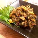 ホルモン焼肉 ぶち - 広島菜のすごく辛いキムチ!