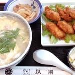 親潮 - ふぐ雑炊とふぐ唐揚げ定食