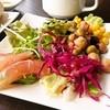 フィッシュテイル - 料理写真:サラダとカルパッチョ