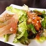 フィッシュテイル - サラダとカルパッチョ2
