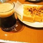 はまもと - 料理写真:シェカラート&アーモンドトースト