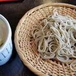 蕎麦処 葉山 鰹  - 二八蕎麦