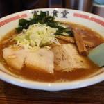 松戸中華そば 富田食堂 - 中華そば(並)700円・150g
