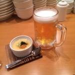 35298983 - 生ビール、お通し