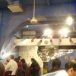 ダバ インディア - 青い壁の店内