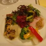 レストラン・ウサギ - 前菜盛り合わせ