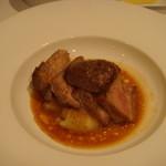 レストラン・ウサギ - 豚のロースト