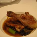 レストラン・ウサギ - 鶏肉のコンフィー