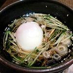 神戸亭本店 炭火焼肉大門 - ざる冷麺(つゆ)