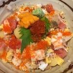 Sushisousakuwashokukenzushi - バラ丼?ちらしだっけな