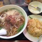 慶珍楼 - 今日もがっつり食べてしまった、、、。f^_^