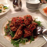 35301332 - 鶏肉の揚げ物北京風