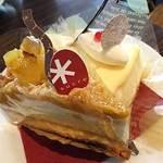 パティスリー シュクレ - 安納芋のタルトとニューヨークチーズケーキ