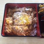 大むら - 料理写真:カツ丼はしっかり煮込まれています