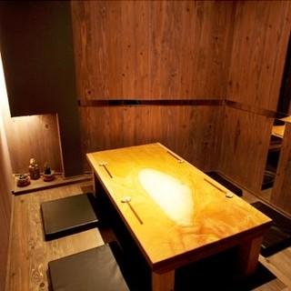 各種個室を用意しており、様々なシーンでご活用いただけます。