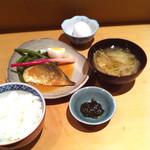 橙 - 鯖の味噌煮 500円 (2015-02-22)