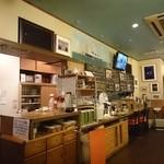 ダイニングキノシタ - 店内厨房側