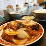 御舟 - 料理写真:酢豚定食