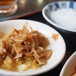 食神 餃子王 - 麻婆春雨の定食