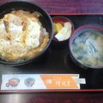 増田屋  - カツ丼 900円