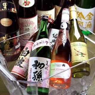 麺や餃子を楽しみながら、生ビールやワインや紹興酒が楽しめる!